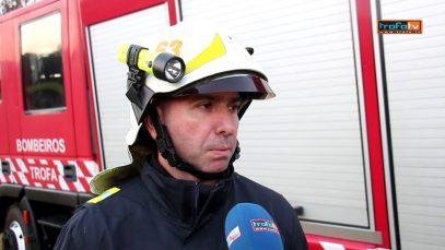 Incêndio destrói casa em Covelas