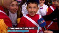 Participação da EB1 de Querelêdo, de Covelas, no Carnaval da Trofa