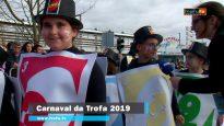 Participação da EB1/JI da Esprela, de Bougado, no Carnaval da Trofa