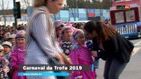Participação da EB1/JI de Vila, do Coronado, no Carnaval da Trofa