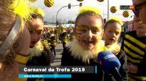 Participação da EB1/JI do Paranho, de Bougado, no Carnaval da Trofa