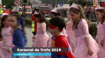 Participação da Escola do Cerro 2,de Guidões, no Carnaval da Trofa