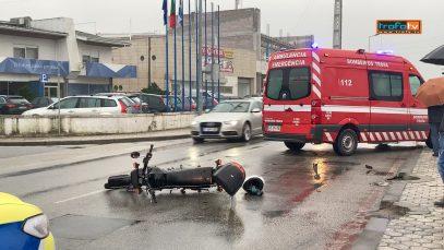 colisão motociclo