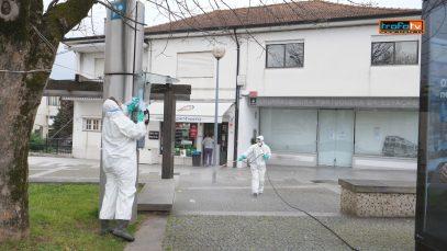 desinfeção corona virus
